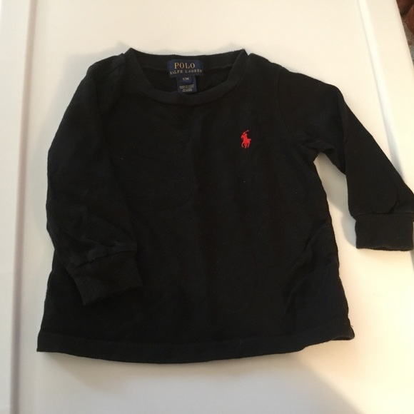 Polo by Ralph Lauren Other - Polo Boys Black Long Sleeve T-shirt Size 12m